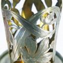 Стаканчик в серебряном окладе