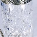 Графин, серебро и хрусталь