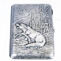 Портсигар «Волк в капкане»
