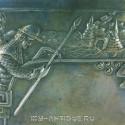Портсигар «Рыцарь у замка»