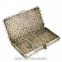 Портсигар из серебряных ленточек
