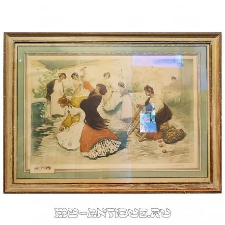 Женщины, танцующие фламенко