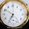 Часы карманные с четвертным репетиром и хронометром