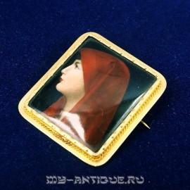 Брошь-миниатюра
