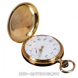 Часы карманные трехкрышечные Vve. Henri Monney