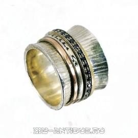 Перстень с камнями и благословением