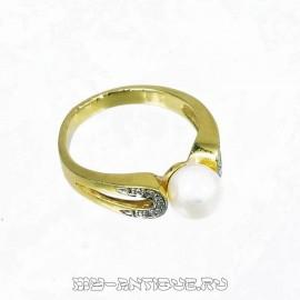 Кольцо Кольцо с жемчугомс жемчугом