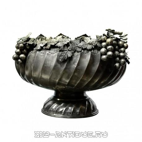 Серебрянная ваза