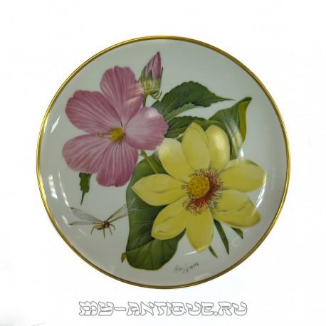 Тарелка декоративная «Полевые цветы»