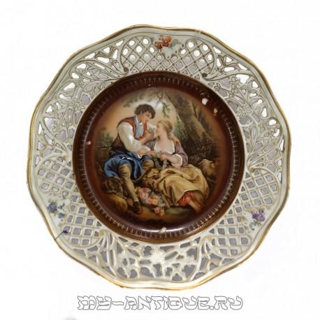 Тарелка «Романтическая встреча»