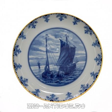 Тарелка «Морской пейзаж»