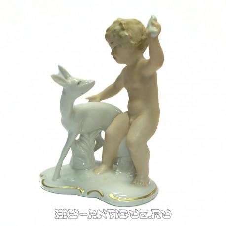 Фигура «Мальчик с ланью»