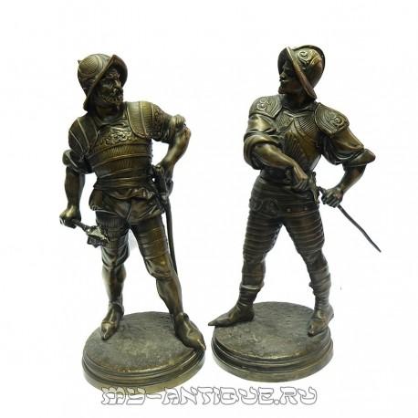 Скульптура «Конкистадоры»