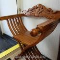 Курульное кресло (складное)