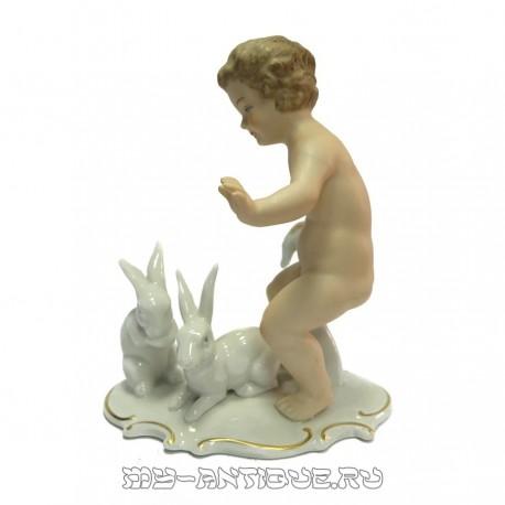 «Мальчик с зайчиками»