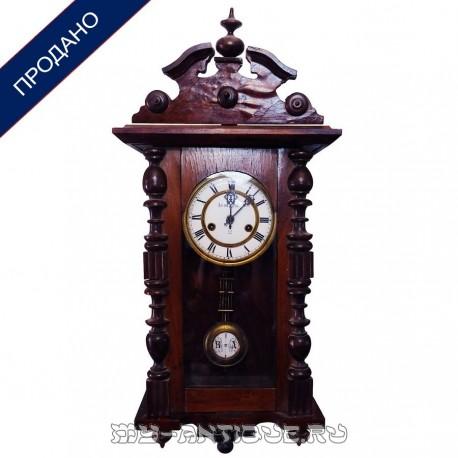 """Часы настенные в деревянном корпусе """"Le roi Paris"""""""