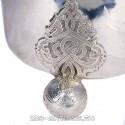 Серебряная пивная кружка