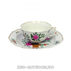 Чашка с тарелкой