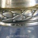 Графин, хрусталь, серебро