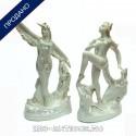 Парные фигуры из балета «Аистенок»