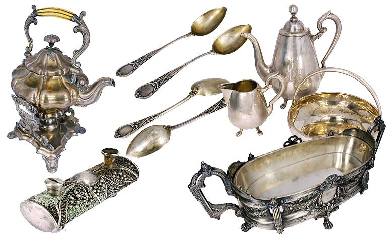 Антикварное серебро